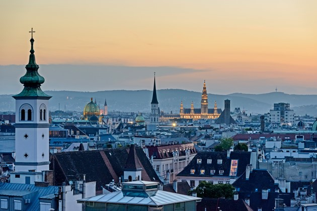 Vienna-Austria-at-sunset