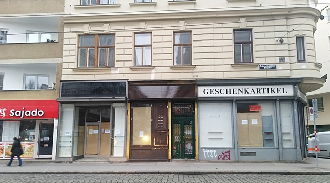 closed down shops in Vienna